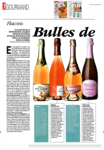 French food and lifestyle magazine Gourmad features Rives-Blanques
