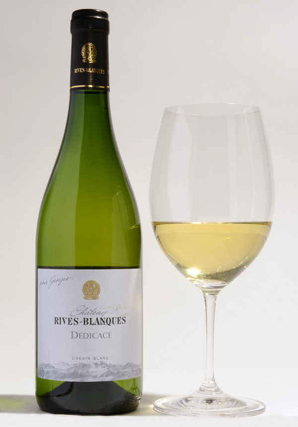 D dicace chenin blanc chateau rives blanques for Chenin blanc