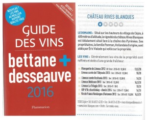 Guide Bettane & Desseauve 2016