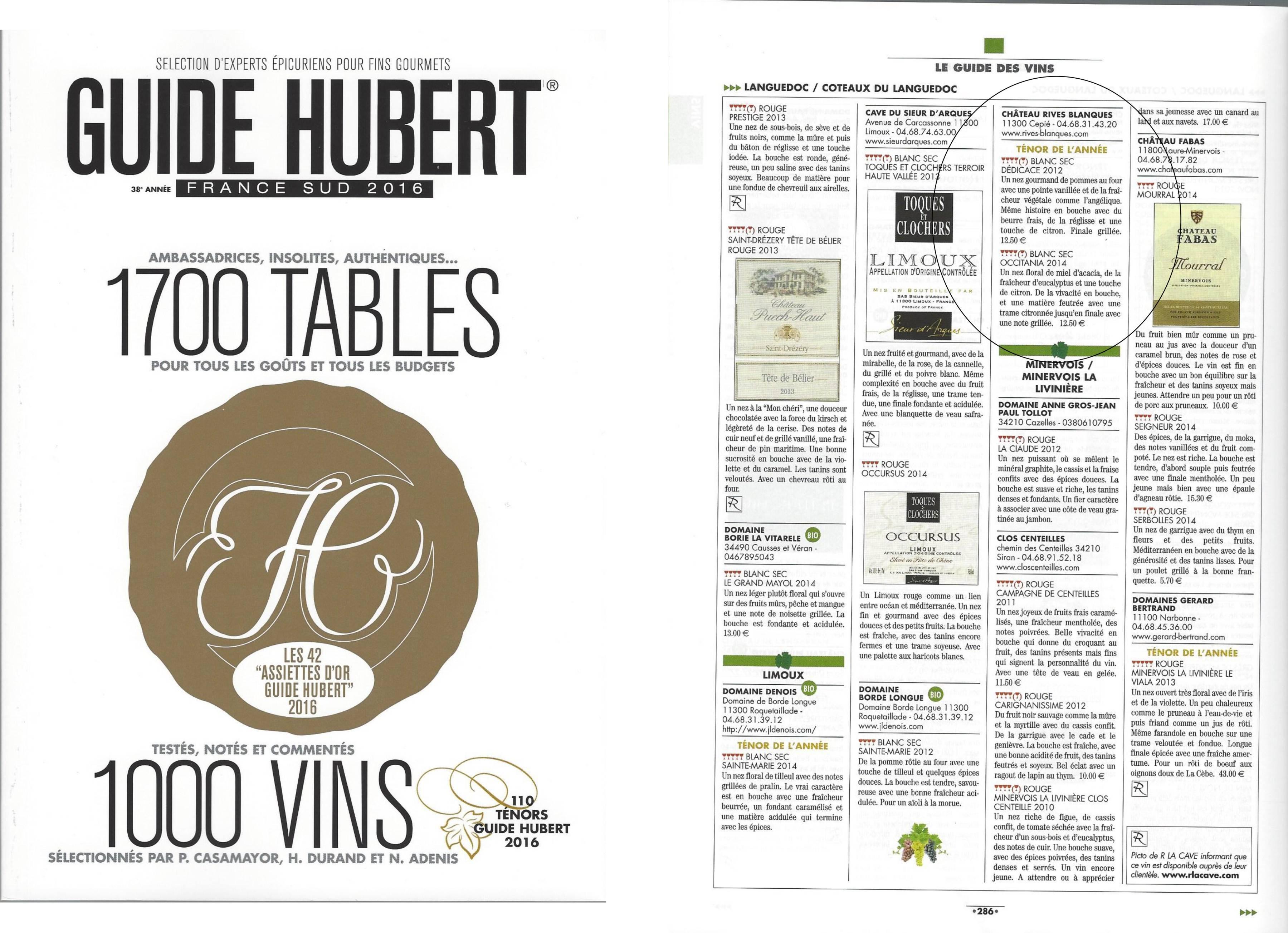 Guide Hubert 2016