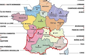 carte-redecoupage-regions-france