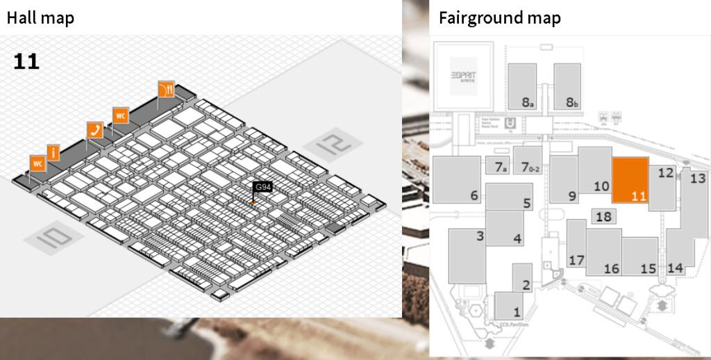 Hall map prowein17 copie